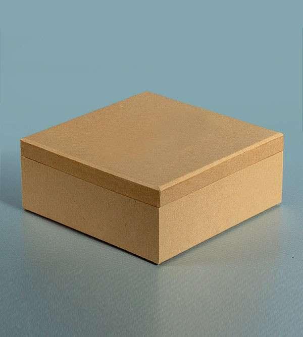 Krabička na ubrousky čtverec 19x19x8 cm Efco