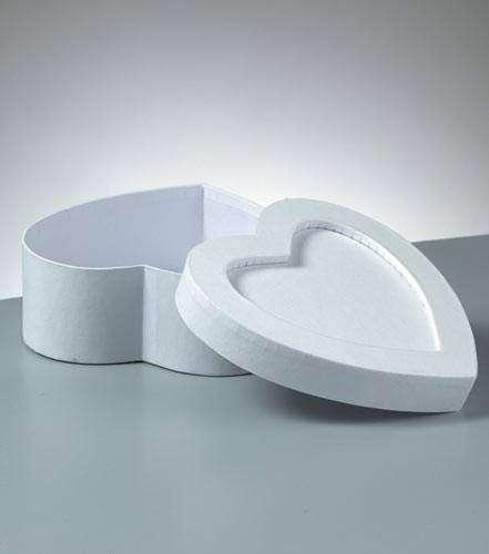 Krabička srdce 15x15x6cm Efco