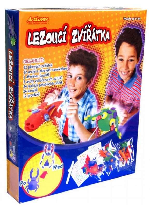 Lezoucí zvířatka - krabice ArtLover