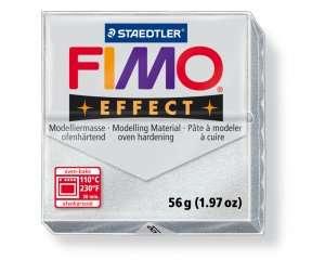 Polymerová hmota fimo 56 g effect - metalická stříbrná 81 Staedtler