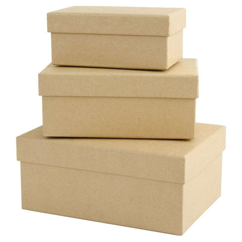 Sada krabiček 3 kusy ostatní