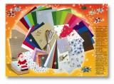 Vánoční kreativní sada - kufr 110 dílů Folia
