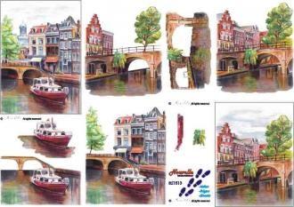Holandsko - 3D papír Le Suh