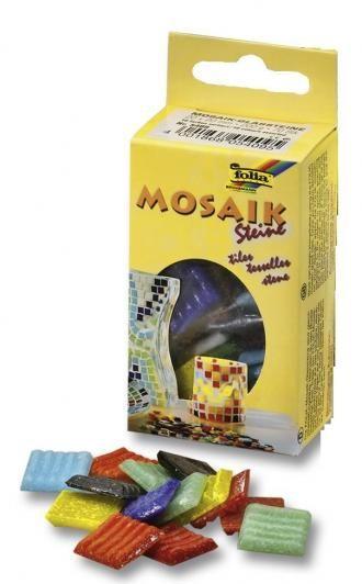Mozaikové kamínky mix 20x20mm Folia