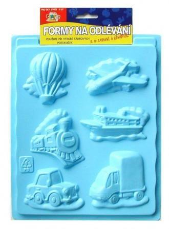 Plastová forma - dopravní prostředky SMTCreatoys