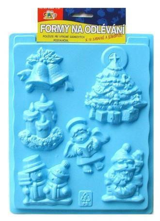 Plastová forma - Vánoce