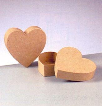 Kabička srdce 12x5cm Efco