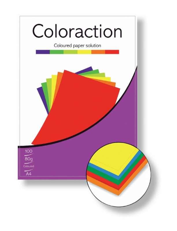 Barevné papíry A4 80g 100ks sytá modrá ostatní