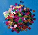 Papírová mozaika lesklá 1x1 cm 10.000 kusů