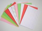 Papírové dekorativní koule s motivem jaro o průměru 25 a 50 mm Folia
