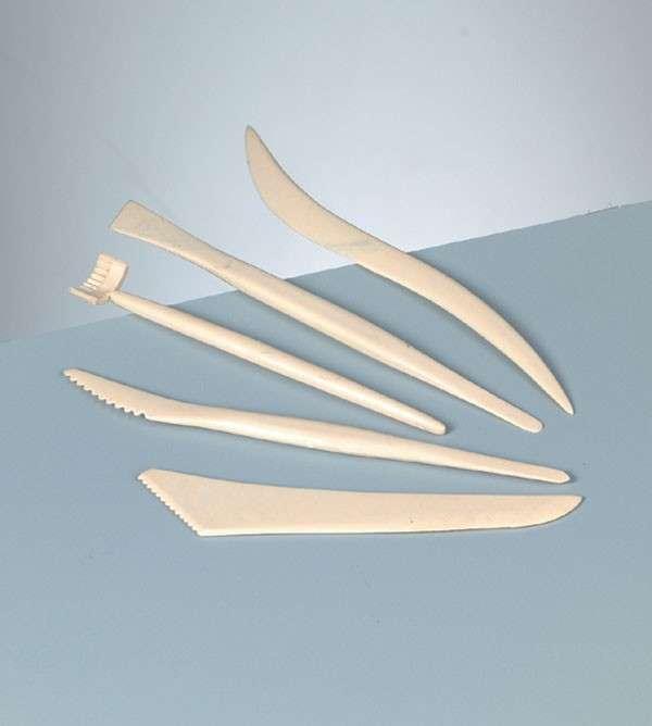 Plastová sada nástrojů na modelování 5ks Efco