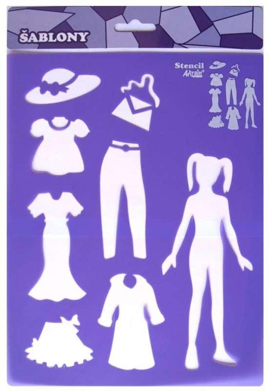 Šablona plastová oblékání SMTCreatoys