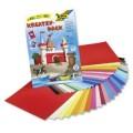 Sada barevných papírů a fotokartonu 23x33 cm 50 archů
