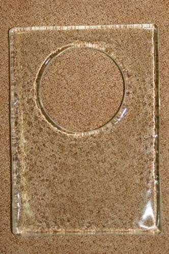 Sklíčko obdélník s výsekem 50x37mm / 20mm ostatní