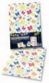Transparent papír 115 g/m2 23 x 33 cm 5 listů - motýl