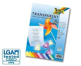 Transparentní papír Folia