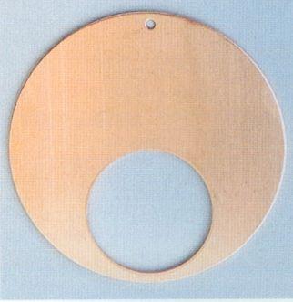 Závěs kolo s výsekem 48mm + 1 dírka Efco