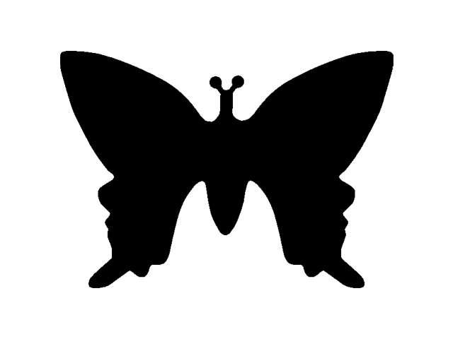 Razidlo (děrovačka, raznice) motýlek 2,2cm