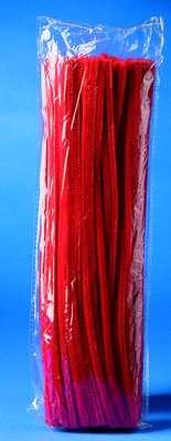 Chlupaté dráty 30 cm červené 100 ks ostatní