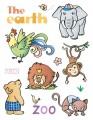 """Gelová razítka - sada Zvířátka """"The earth"""" 15x20cm"""