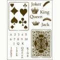 Gelová razítka - Žolíkové karty 15x20cm