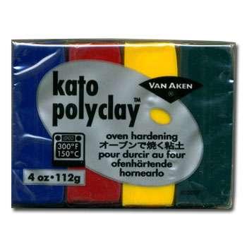 Kato Polyclay - Sada 4 barev - Concentrates