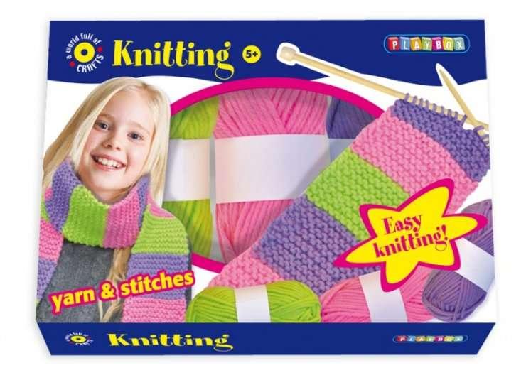 Pletení v krabici PLAYBOX