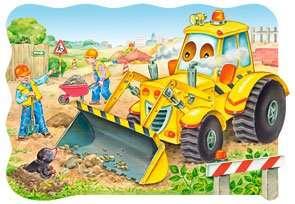 Puzzle maxi 20 dílků - Bagr Castorland