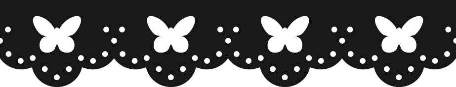 Razidlo (děrovačka, raznice) okrajové - bordura motýlci HEYDA
