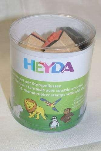 Razítka mix 15 ks ZOO HEYDA
