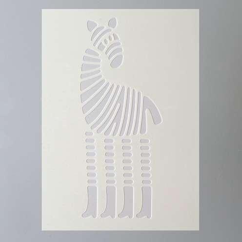 Šablona žirafa Efco