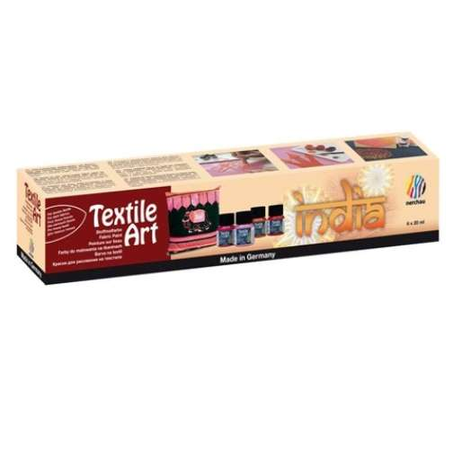 Nerchau Textile Art India 6 x 20 ml