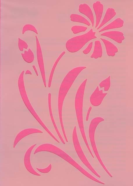 Šablona květina Efco