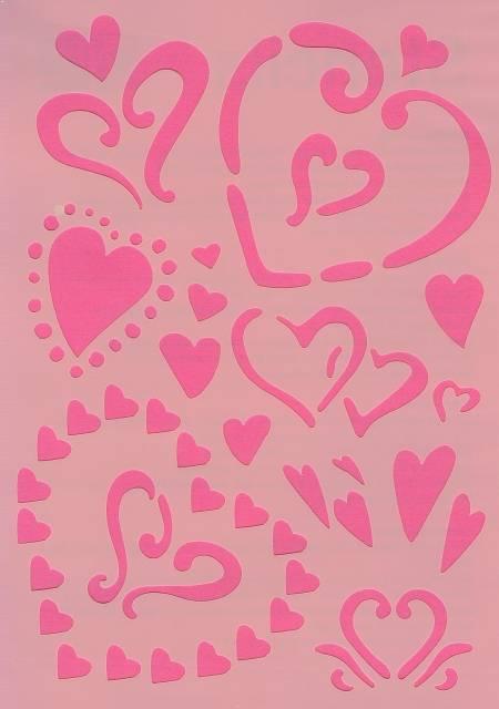 Šablona srdce Efco