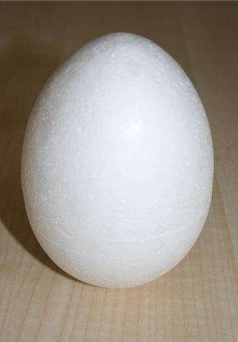 Polystyrenové vejce 9,5cm ostatní
