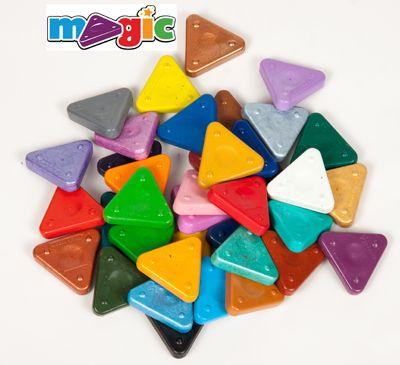 Voskovka trojboká Magic Triangle základní - magická voskovka MOROCOLOR Italia