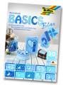 Blok s motivem Basics modrá 30 archů formátu 24x34 cm