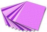 Blok s motivem Basics růžová 30 archů formátu 24x34 cm Folia