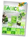 Blok s motivem Basics zelená 30 archů formátu 24x34 cm
