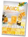 Blok s motivem Basics žlutá 30 archů formátu 24x34 cm