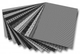 Blok s motivem černobílá 26 archů formátu 24x34 cm Folia