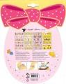 Folie na vajíčka - košilky velikonoční 12 ks kuřátka AMOS