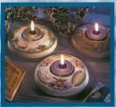 Forma - Svícen kytičky a kostelíček