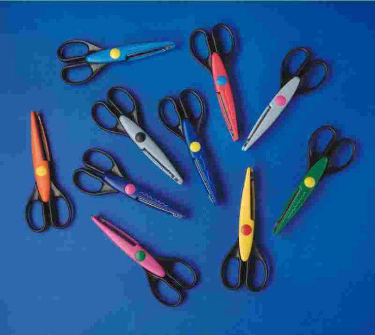 Konturovací ozdobné nůžky sada ostatní