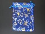 Organzový dárkový sáček s potiskem 12x9 cm 10ks ostatní
