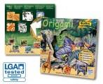 Origami - sada na výrobu zvířátek - safari