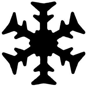 Razidlo (děrovačka, raznice) sněhová vločka 1,5cm HEYDA