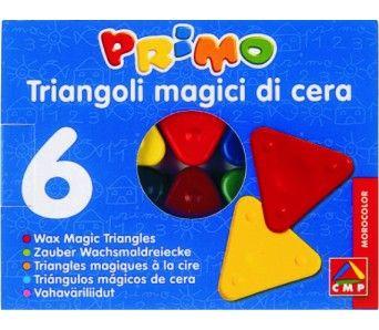 Sada trojboké voskovky 6ks MOROCOLOR Italia