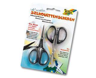 Siluetovací nůžky 2 kusy Folia