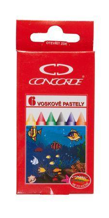 Voskovky sada 6-ti barev